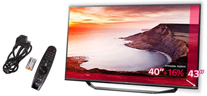 Телевизор LG 43UF771V по рекордно низкой цене