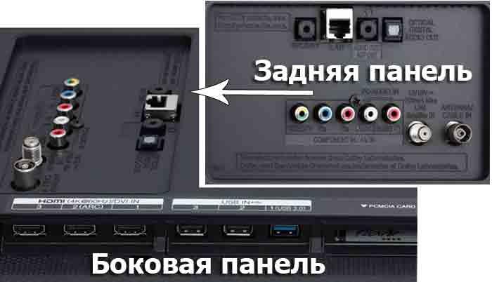 LG 43UF771V интерфейсы