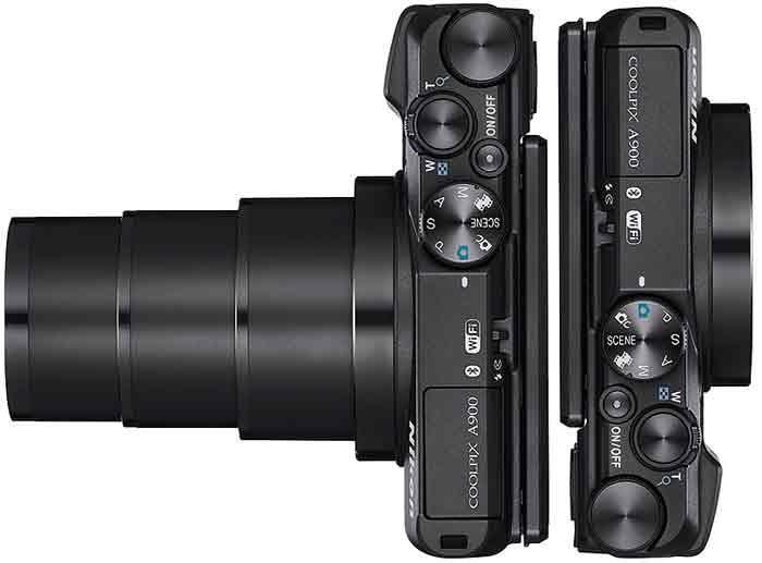 Nikon COOLPIX A900 объектив