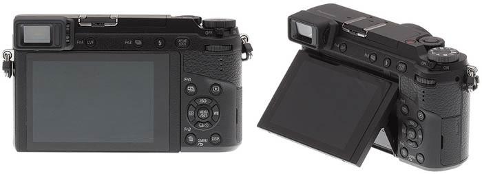 Фотоаппарат Panasonic GX80 сенсор и экран
