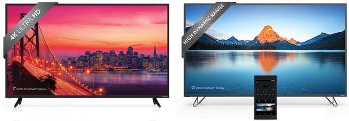 Цены на телевизоры Vizio E-Series и M-Series 2016