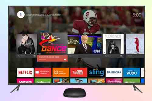 Приставка Xiaomi TV Mi Box Управление