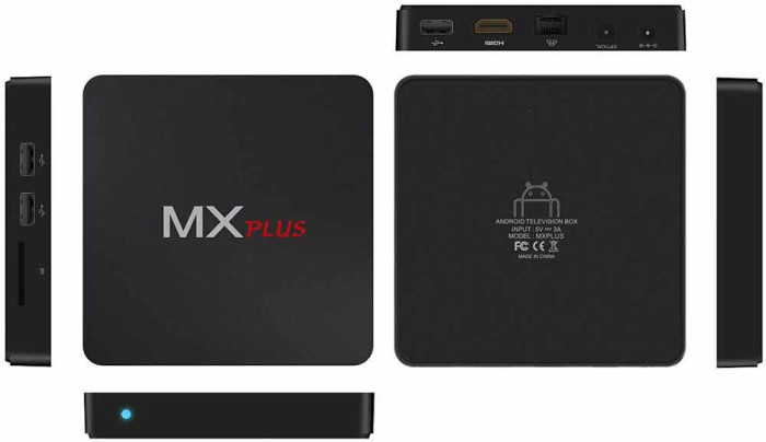 Приставка MX PLUS Pro визуальный обзор
