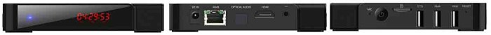 iLepo R-BOX дисплей и коммутация