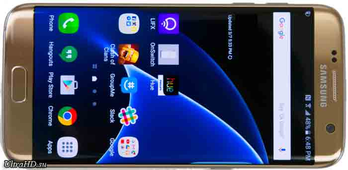 смартфон с 4K камерой Galaxy S7