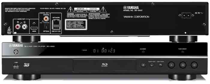 Проигрыватель Yamaha BD-S681 обзор