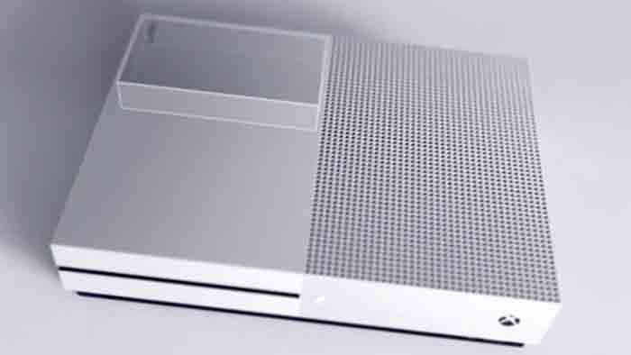 Microsoft Xbox One S с 4K Blu-Ray Корпус