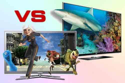 4K телевизоры Samsung и LG - отличия