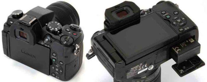 Panasonic G80  корпус