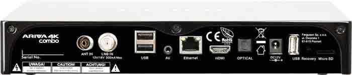Приставка Ariva 4K Combo
