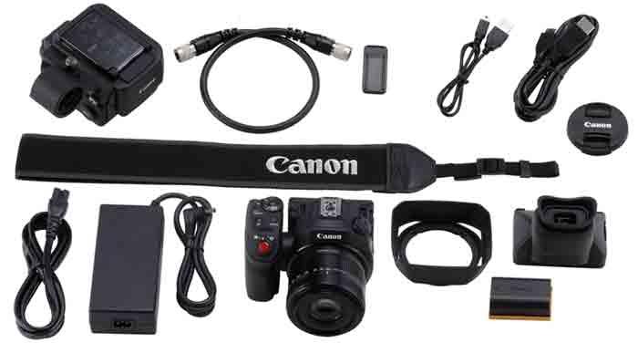 Canon XC15 комплектация