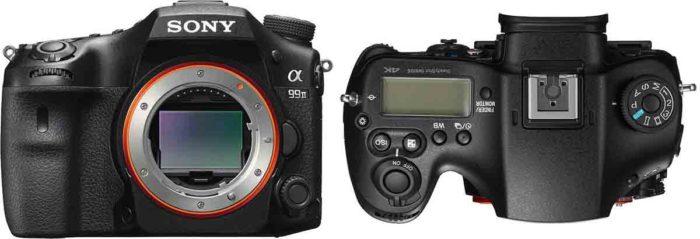 Sony A99 II габариты и управление