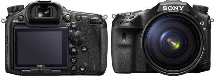 Sony A99 II вид передний и задний