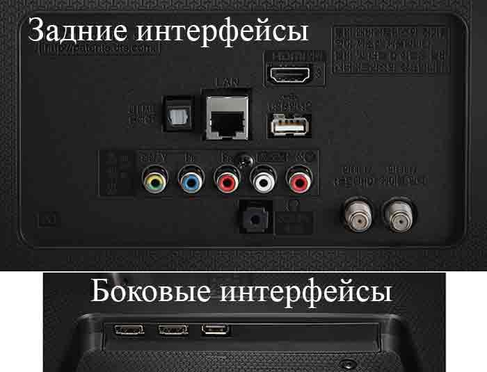 LG UH651V подключения