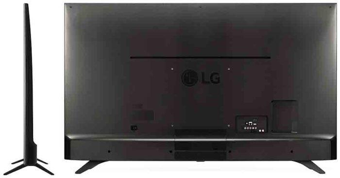 LG UH651V задняя панель