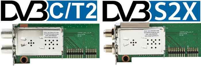 Octagon SF4008 DVB-S2X, DVB C/T2