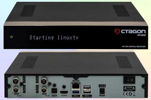 Octagon SF4008 с тюнером DVB-S2X