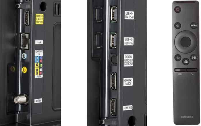 Samsung KU6500 интерфейсы
