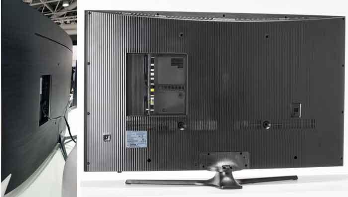 Samsung KU6500 тыловая панель