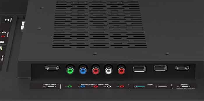 Vizio М-серии интерфейсы