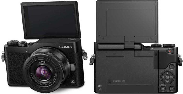 Panasonic Lumix DC-GX800 4K камера для селфи