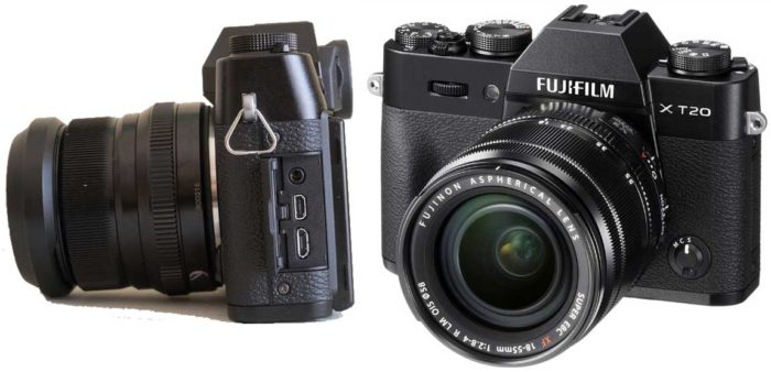 Fujifilm X-T20 интерфейсы
