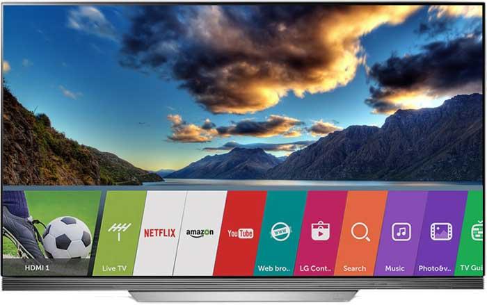 Телевизор LG OLED55E7V смарт ТВ