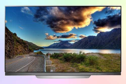 Телевизор LG OLED55E7V с OLED панелью