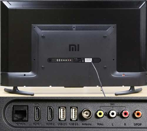 Xiaomi Mi TV 4A интерфейсы