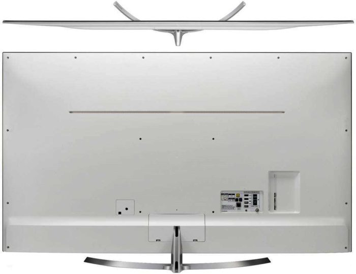 LG SJ850V задняя панель