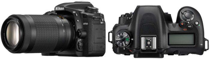 Nikon D7500 объектив и управление