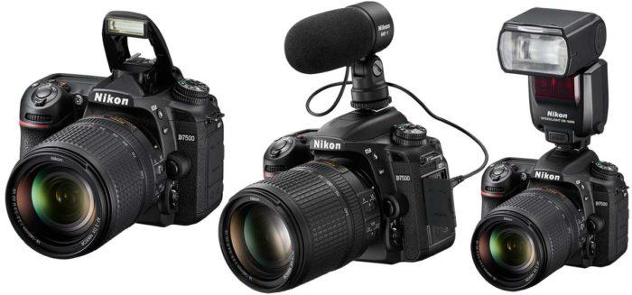 Nikon D7500 видеосъемка