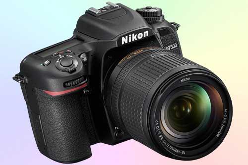 Фотокамера Nikon D7500, снимающая 4K видео