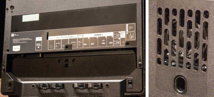 Sony 55A1 интерфейсы