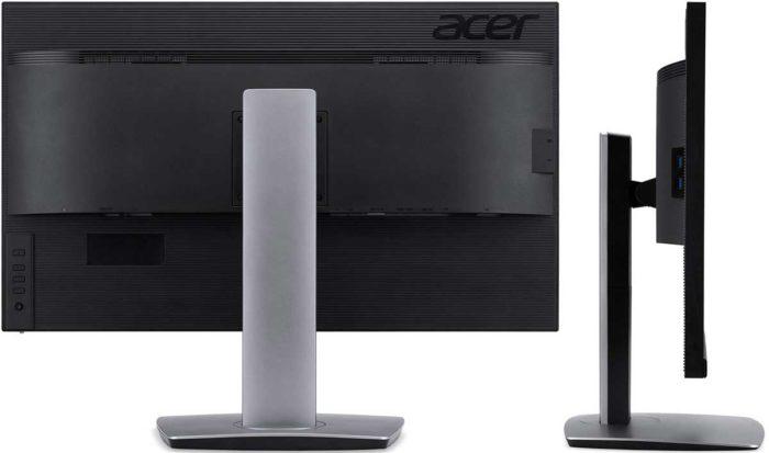 Acer ProDesigner BM320 интерфейсы