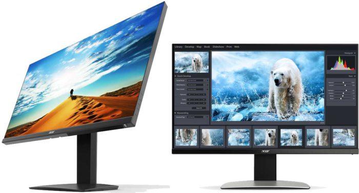 Acer ProDesigner BM320 эргономика