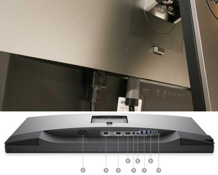 Dell UltraSharp UP2718Q интерфейсы