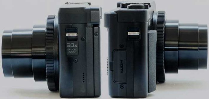 Panasonic TZ90 дизайн
