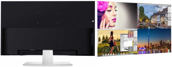 ViewSonic VX4380-4K задняя панель