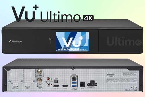 Vu+ Ultimo 4K с одновременным приемом трех видов сигнала