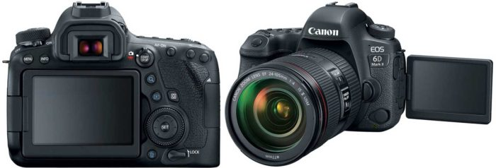 Canon EOS 6D Mark II дисплей