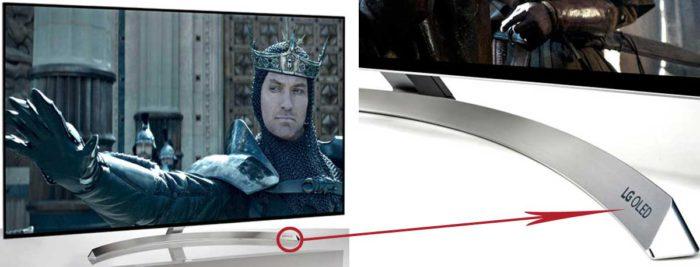 LG OLED B7 подставка