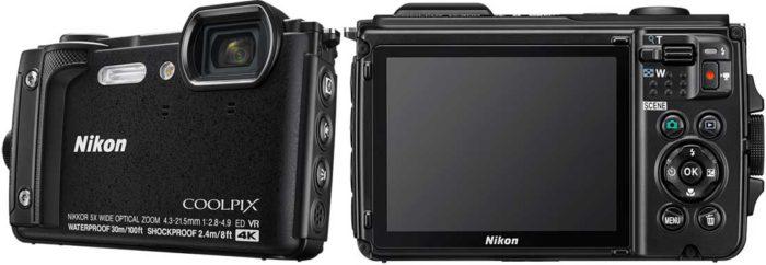 Nikon Coolpix W300 экран