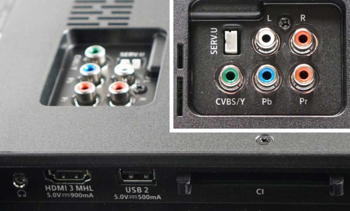 Philips PUS6262 интерфейсы