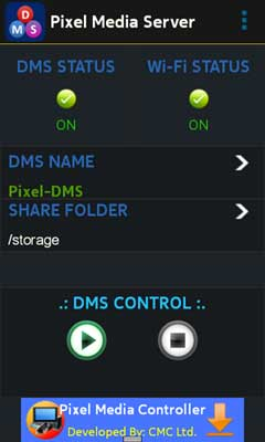 Pixel Media Server – DMS