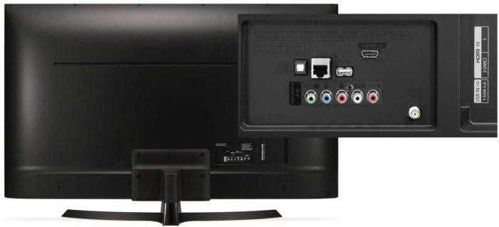 LG UJ634V интерфейсы
