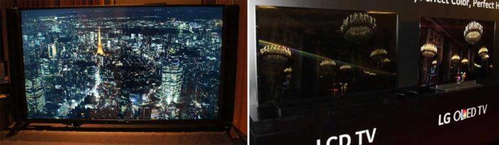 Локальное затемнение в OLED телевизорах 4K