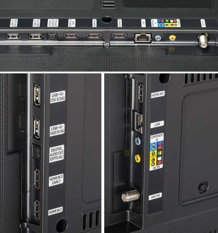 Samsung MU6300 подключения