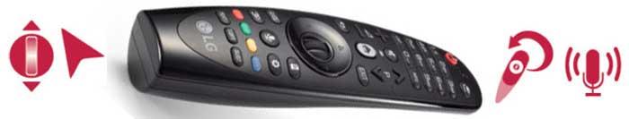 LG UJ750V пульт
