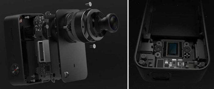 Xiaomi Mijia 4K процессор и объектив